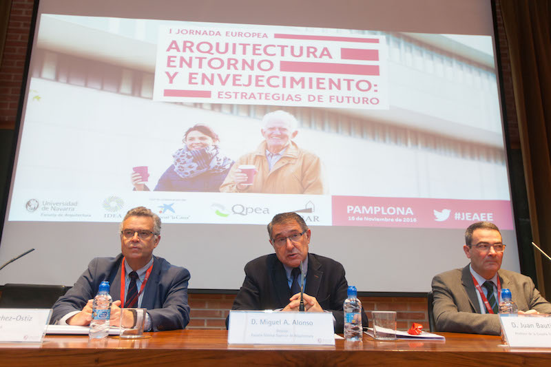 Apertura Jornada Europea de Arquitectura Entorno y Envejecimiento