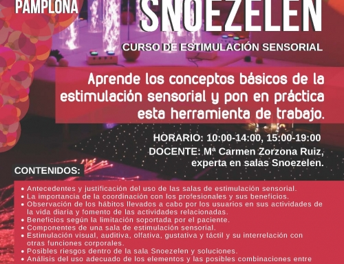"Curso Introducción Estimulación Sensorial  ""SALAS SNOEZELEN"""